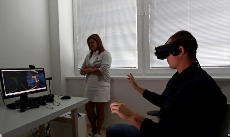 Realidad virtual para terapias físicas