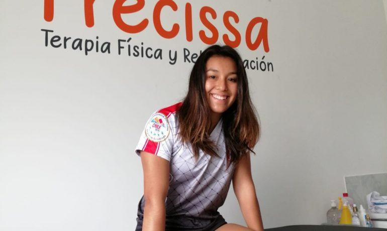 Gracias Mayte Salinas (Clavadista Federada FDPN) por confiar en Precissa.