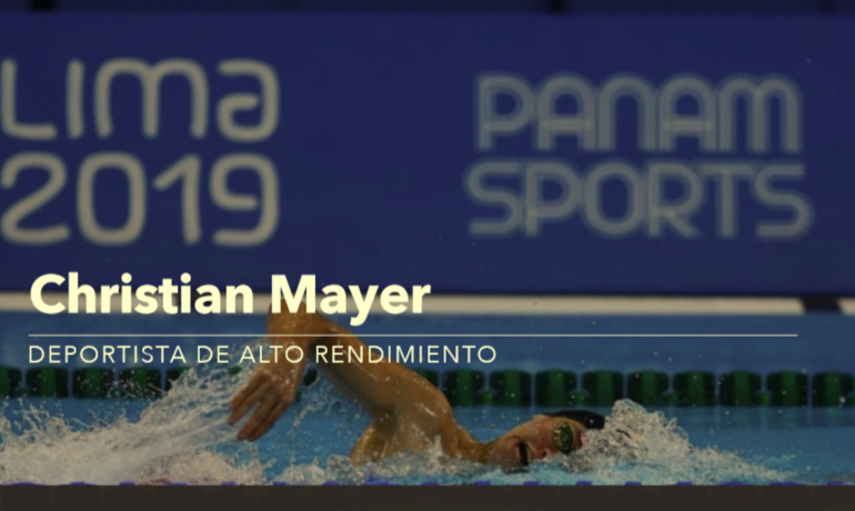 Christian Mayer  (nadador profesional y atleta de alto rendimiento)